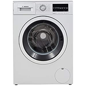 Bosch 8 kg Inverter Fully-Automatic Front Loading Washing Machine (WAT24464IN, Silver, Inbuilt Heater)