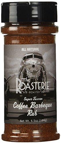 Roasterie Coffee BBQ Rub, 6.5 Ounce