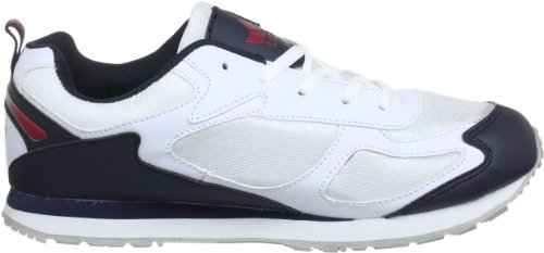 Lico Men's 110078 High Trainers (Weiss/Mar/Rot) 3MCHTR