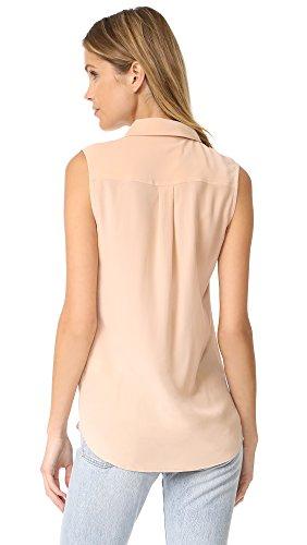 Equipment Women's Sleeveless Slim Signature Button Down Top