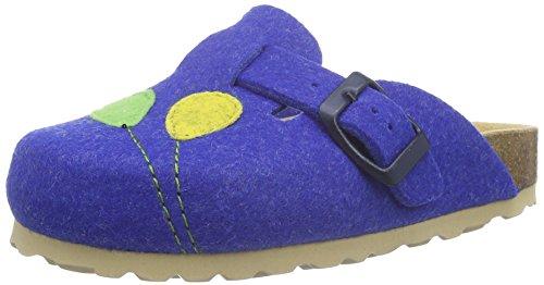 Lico Bioline Ballon, Pantuflas Para Niños Azul (Blau)