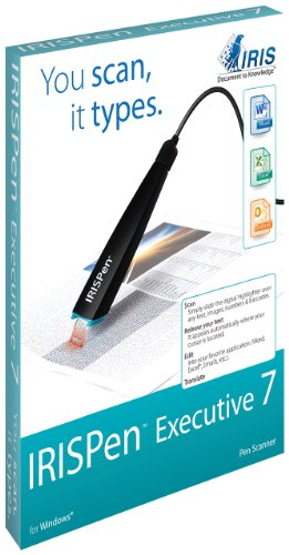 IRIS 457887 Executive 7 IRISPen USB Pen-Scanner by IRIS USA, Inc.