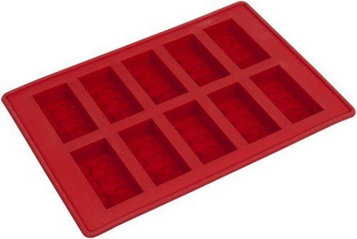 Lego Red Ice Cube Bricks Tray