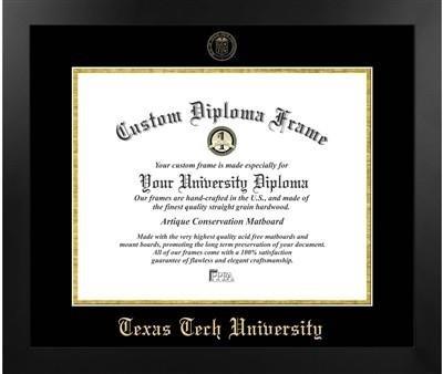 Texas Tech University Most Popular Diploma Frame