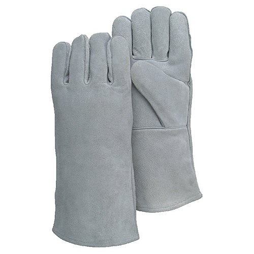 Majestic Glove 2514C Welding Glove, Size 10, Gray (Pack of 12)