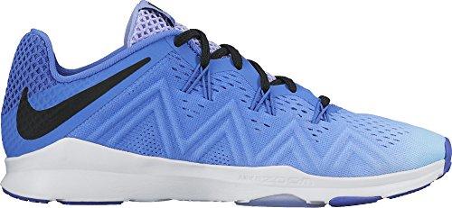 Nike Women's Air Zoom Condition TR Fade Training Shoe Medium Blue/Black/Light Thistle Size 8 M US