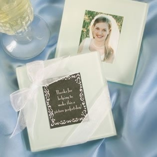 Fashioncraft Glass Photo Coasters 144