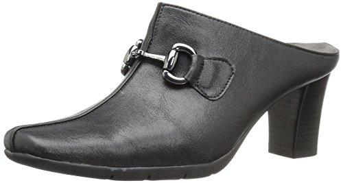 Aerosoles Women's Montana Mule, Black, 7.5 M US (Mid Heel Womens Mules)