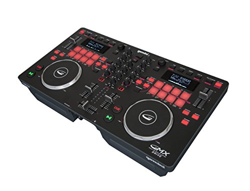 Gemini Gmx Series Gmx Drive Professional Audio Dj Multi Format Cd Drive  Usb  Mp3  Wav And Dj Software Compatible Media Controller System With Touch Sensitive High Res Jog Wheels