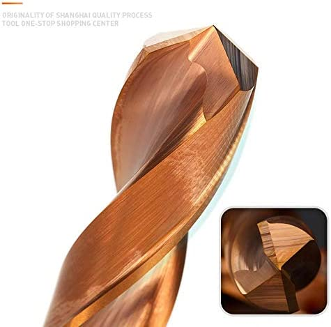 NO LOGO 1pc HRC65 Deg.Twist Drill Bit 1.0-9.0mm Solid Carbide Core Drill Bits For Hard Metal Drilling Tools 3D Whole Tungsten Steel Matkap (Color : 8.3mm, Size : Round)