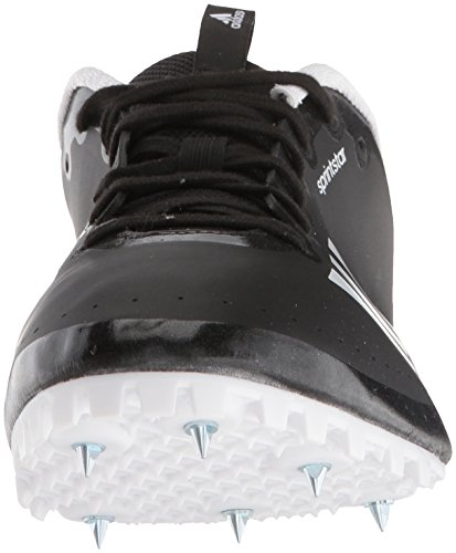 adidas Women's Sprintstar w, core Black/Orange/White 11.5 M US by adidas (Image #4)