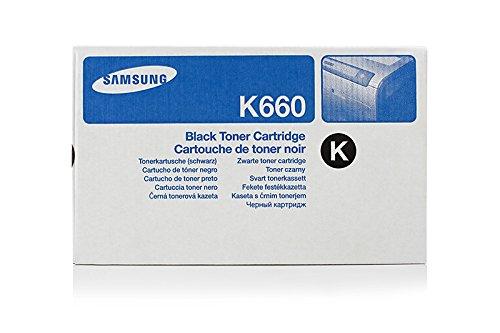 Price comparison product image Samsung CLX-6210 FX -Original Samsung CLP-K660B - Black Toner Cartridge -5500 pages