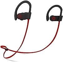 Firstop Auriculares Bluetooth, Audífonos Inalámbricos Impermeables IPX7, Auriculares con Reducción de Ruido y Ajuste...