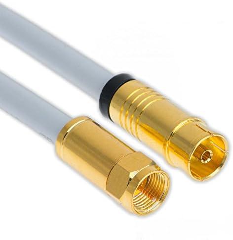 3m Koaxial Sat Antennen Kabel 135db Kupfer F Stecker Elektronik