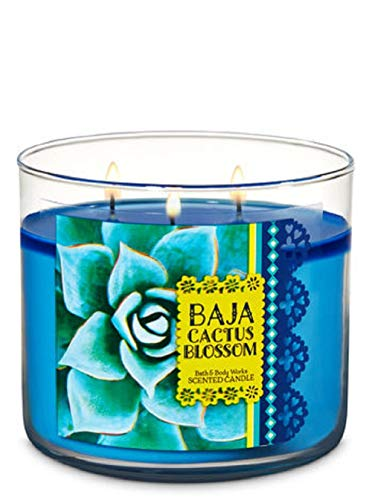 Bath & Body Works 3-Wick Candle in Baja Cactus Blossom