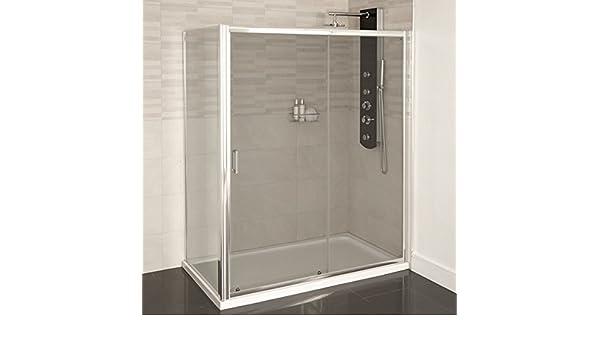 Mampara de ducha 1000 x 900 cristal 4 mm: Amazon.es: Bricolaje y herramientas