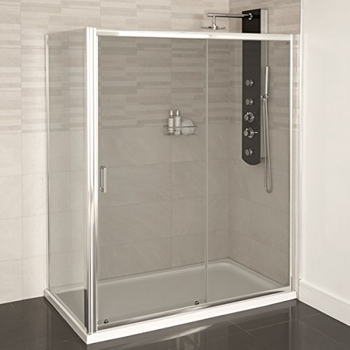 Shower Enclosure Cubicle 1000x800 Glass 4mm by Better Bat...