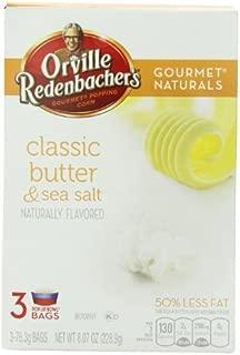 product image for ORVILLE REDENBACHER'S POPCORN CLASSIC BUTTER & SEA SALT 3 PER BOX