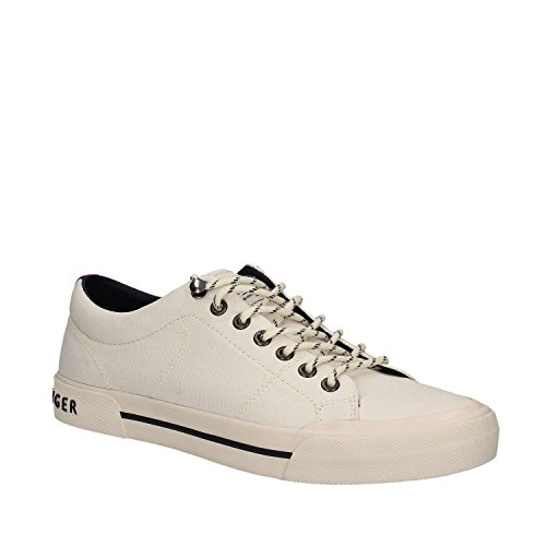 Iconic On Tommy Hilfiger Sneaker Uomo Bianca Slip aHx1Rxq
