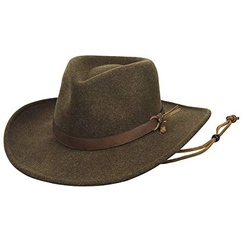 Morgan Mens Hat - Wind River by Bailey Morgan Litefelt Outback Hat