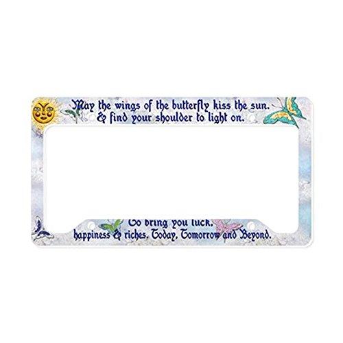 kiss license plate frame - 8