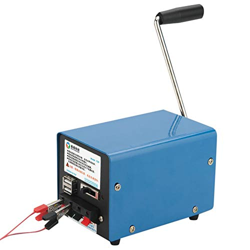 Mouchao 20W Portable Outdoor Multifunction Manual Crank Generator for Emergency
