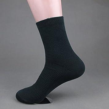 ZHUDJ Calcetines De Algodón Puro En El Tubo De La Aguja Se Dobla Calcetines Calcetines Casual