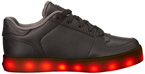 elate Garçon Skechers Noir Formateurs Energy Lights SqHExIHCw
