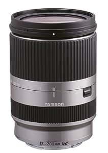 Tamron B011S AF 18-200 mm F/3,5-6.3 - Objetivo para Sony/Minolta (distancia focal 18-200mm, apertura f/3.5-6,3, estabilizador óptico, macro, diámetro: 62mm) plateado