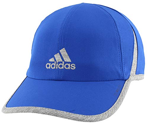 adidas Men's Superlite Relaxed Adjustable Performance Cap, Collegiate Royal/Heather Grey, One Size