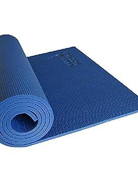 ZQ esterillas de yoga (Azul, PVC) - 10 mm antideslizante ...