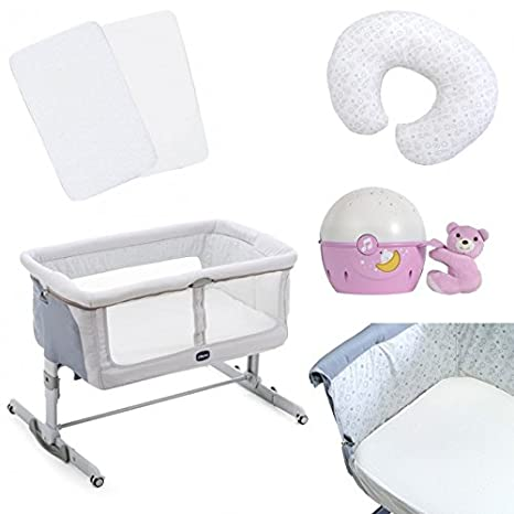 Chicco Next2Me sueño side-sleeping cuna Plus accesorios ...