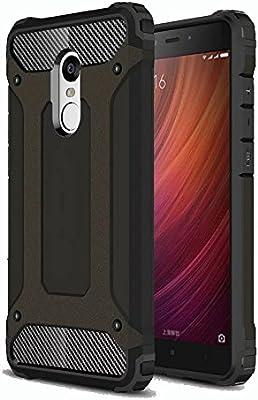 Amazon.com: Redmi Note 4 funda, ranyi [protección híbrida ...