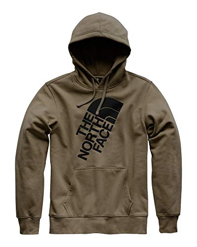 The North Face Men's Jumbo Half Dome Hoodie - New Taupe Green & TNF Black - ()