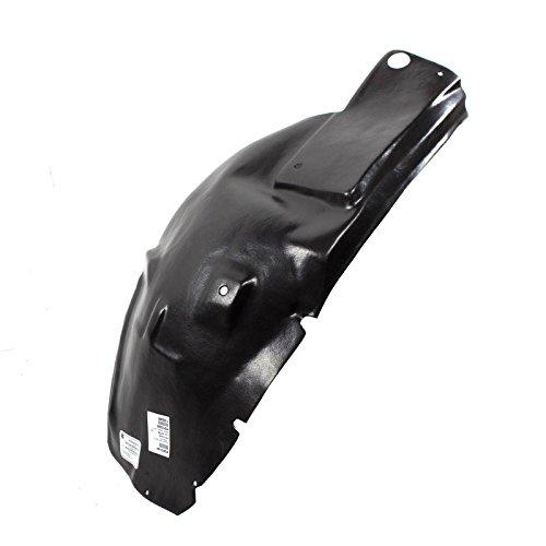 CarPartsDepot Front Fender Liner FO1250129 05-09 Mustang GT Deluxe Premium 5R3Z16103BA L/H