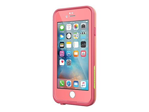 Pink Personal Electronic Cases (Lifeproof FRE Waterproof Case for iPhone 6/6s- Sunset (Pipeline/Windsurf/Longboard))