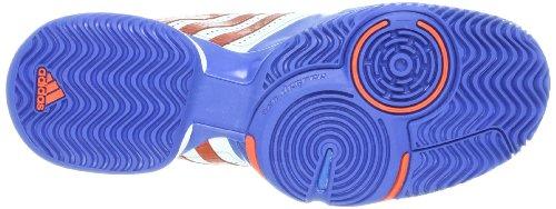 Adidas - Adipower Barricade - Color: Azul-Blanco-Rojo - Size: 43.3