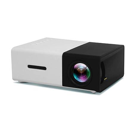 Ourlove Inicio Mini proyector Portable de 1080P HD Máximo 105 ...