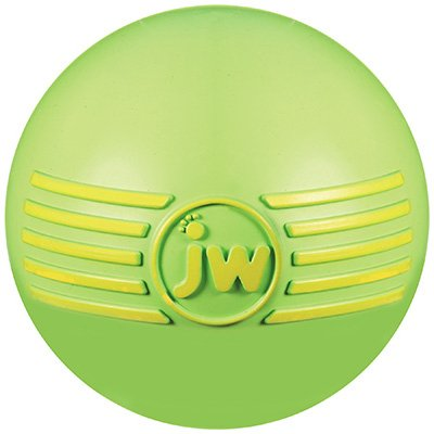 "JW Pet iSqueak Ball Dog Toy, Large 4"", Colors Vary"