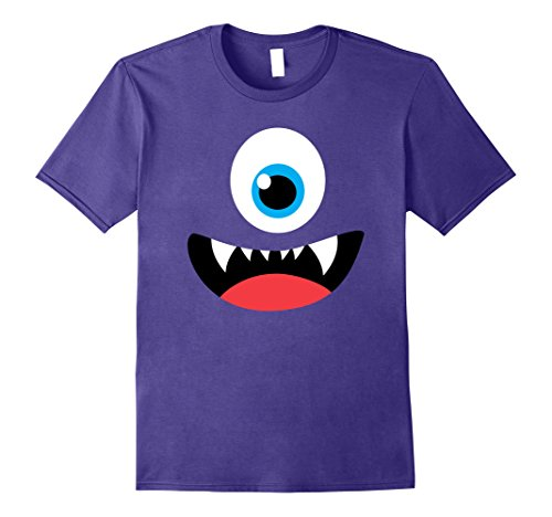 Funny Scary Monster Costume Halloween Shirt for Kids Adult