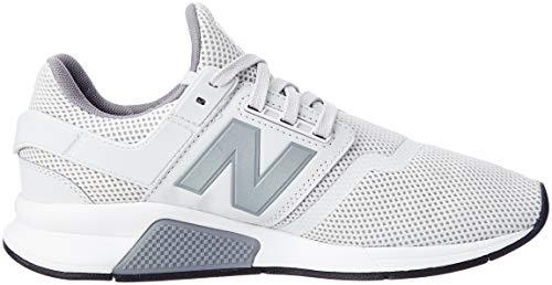 summer Fe Balance silver Fog Uomo 247v2 New Sneaker Bianco 8fvwqSx1