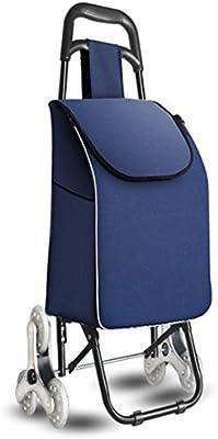 0f79289331 QIANGDA-Carros Carrito Compra Plegable Servicio Móvil Subir Escaleras  Resistencia Al Desgaste Mango De Diseño Radial