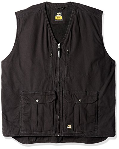 Price comparison product image Berne Men's Big-Tall Echo One Zero Vest, Black, 3X-Large/Regular