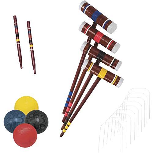 Recreational 4 Player Croquet Set