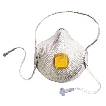 2800 Series N95 Particulate Respirators - med/lg n95 particulate respirator w/handystra [Set of 10]