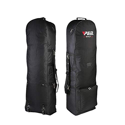 Golf Travel Bag with Wheels- Flight Travel Sport Golf Bag,Golf Club Travel Cover to Carry Golf Bags,Golf travel bags…