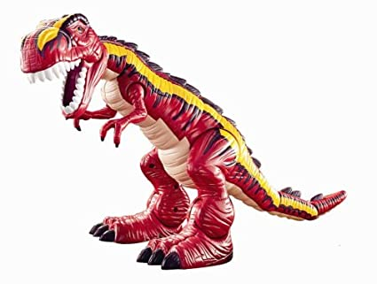 Fisher Price Motorized Roaring T-Rex Dinosaur - Red