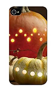 Fashion Protective Pumpkin Lights Case For HTC One M8 Cover