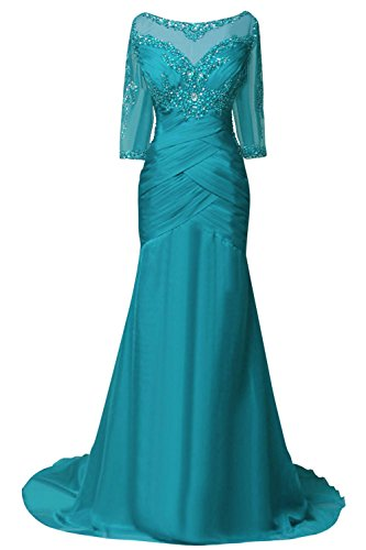 ORIENT BRIDE Women Mother Evening Dresses With Half Sleeves Size 14 US Jade