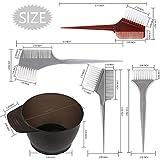 Hair Color Brush and Bowl Set, YGDZ Hair Dye Brush